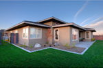 Modern House Plan Rear Photo 03 - Eton Sound Contemporary Home  011D-0341 | House Plans and More