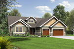 Craftsman House Plan Front Photo 03 - Colten Craftsman Ranch Home 011D-0342 | House Plans and More