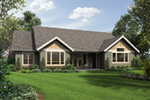 Craftsman House Plan Rear Photo 01 - Colten Craftsman Ranch Home 011D-0342 | House Plans and More