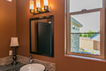 Prairie Style Floor Plan Bathroom Photo 01 - Hyatt Contemporary Ranch Home 011D-0343 | House Plans and More