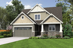 Modern Farmhouse Plan Front Image - Meriweather Craftsman Home  011D-0376 | House Plans and More
