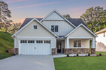 Modern Farmhouse Plan Front of Home - Meriweather Craftsman Home  011D-0376 | House Plans and More