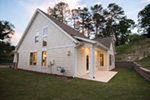 Modern Farmhouse Plan Rear Photo 03 - Meriweather Craftsman Home  011D-0376 | House Plans and More