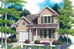 Front of Home -  011D-0378 | House Plans and More