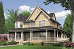 Southern House Plan Front Image -  011D-0393 | House Plans and More