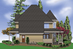 Southern House Plan Rear Photo 01 -  011D-0393 | House Plans and More