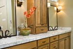 Rustic Home Plan Bathroom Photo 01 - Verbena Craftsman Home : Contemporary Craftsman-Style Home Plans