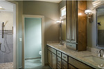 Rustic Home Plan Bathroom Photo 02 - Verbena Craftsman Home : Contemporary Craftsman-Style Home Plans