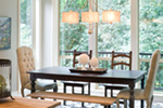 Mountain Home Plan Dining Room Photo 01 - Verbena Craftsman Home : Contemporary Craftsman-Style Home Plans