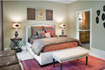 Rustic Home Plan Master Bedroom Photo 03 - Verbena Craftsman Home : Contemporary Craftsman-Style Home Plans