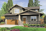 Craftsman House Plan Front Image -  011D-0440 | House Plans and More