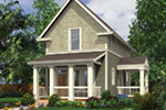 Farmhouse Plan Front Photo 01 - Sunflower Lane Country Home 011D-0447 | House Plans and More