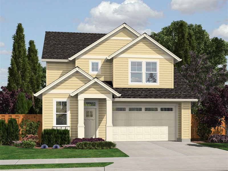 Craftsman House Plan Front Image -  011D-0459 | House Plans and More