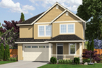Traditional House Plan Front of Home - Cottonwood Hill Country Home  011D-0464 | House Plans and More