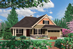 Country House Plan Front Image -  011D-0507 | House Plans and More