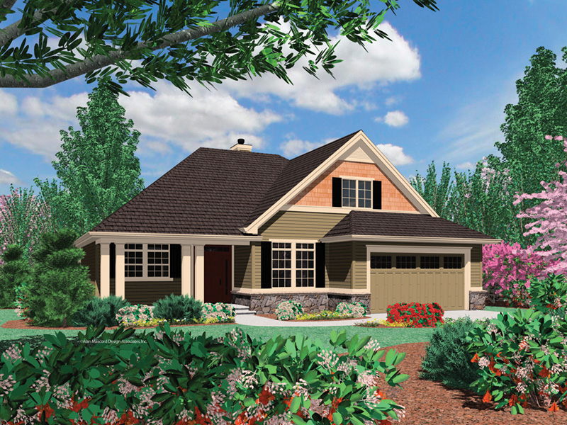 Country House Plan Front Photo 05 -  011D-0507 | House Plans and More