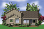 Country House Plan Rear Photo 01 - Putnam Lane Craftsman Home  011D-0517 | House Plans and More
