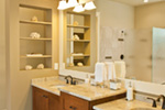 Luxury House Plan Bathroom Photo 01 - Wrights Creek Craftsman Home 011D-0526 | House Plans and More