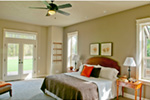 Luxury House Plan Bedroom Photo 02 - Wrights Creek Craftsman Home 011D-0526 | House Plans and More