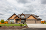 Craftsman House Plan Front of Home - Wrights Creek Craftsman Home 011D-0526 | House Plans and More