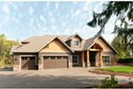 Luxury House Plan Front Photo 02 - Wrights Creek Craftsman Home 011D-0526 | House Plans and More
