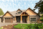 Luxury House Plan Front Photo 03 - Wrights Creek Craftsman Home 011D-0526 | House Plans and More