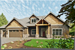 Luxury House Plan Front Photo 06 - Wrights Creek Craftsman Home 011D-0526 | House Plans and More