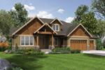 Luxury House Plan Front Photo 08 - Wrights Creek Craftsman Home 011D-0526 | House Plans and More
