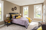 Farmhouse Plan Master Bedroom Photo 01 - Lucy Hill Narrow Lot Home 011D-0542 | House Plans and More