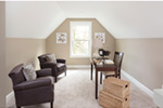 Farmhouse Plan Office Photo 01 - Lucy Hill Narrow Lot Home 011D-0542 | House Plans and More