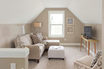 Farmhouse Plan Sitting Room Photo 01 - Lucy Hill Narrow Lot Home 011D-0542 | House Plans and More