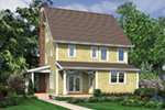Country House Plan Rear Photo 01 -  011D-0548 | House Plans and More