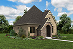 English Cottage House Plan Front Photo 01 - Boyle European Cottage Home 011D-0591 | House Plans and More