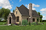 English Cottage House Plan Front Photo 03 - Boyle European Cottage Home 011D-0591 | House Plans and More
