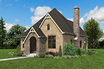 English Cottage House Plan Front Photo 04 - Boyle European Cottage Home 011D-0591 | House Plans and More