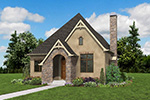 English Cottage House Plan Front Photo 05 - Boyle European Cottage Home 011D-0591 | House Plans and More