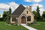 Rustic Home Plan Front Photo 06 - Boyle European Cottage Home 011D-0591 | House Plans and More