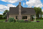 Rustic Home Plan Front Photo 07 - Boyle European Cottage Home 011D-0591 | House Plans and More