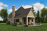 English Cottage House Plan Front Photo 08 - Boyle European Cottage Home 011D-0591 | House Plans and More