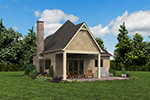 English Cottage House Plan Rear Photo 06 - Boyle European Cottage Home 011D-0591 | House Plans and More