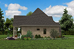 English Cottage House Plan Side View Photo 01 - Boyle European Cottage Home 011D-0591 | House Plans and More