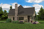 English Cottage House Plan Side View Photo 02 - Boyle European Cottage Home 011D-0591 | House Plans and More