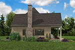 English Cottage House Plan Side Photo 03 - Boyle European Cottage Home 011D-0591 | House Plans and More