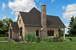English Cottage House Plan Side Photo 04 - Boyle European Cottage Home 011D-0591 | House Plans and More