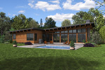 Rear Photo 01 - 011D-0610 | House Plans and More