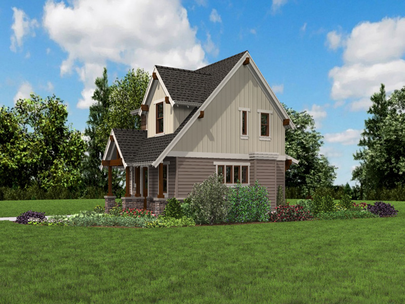 Rustic Home Plan Front Photo 05 -  011D-0612 | House Plans and More