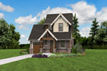 Country House Plan Front Photo 07 -  011D-0612 | House Plans and More