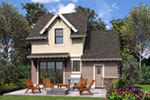 Rustic Home Plan Rear Photo 01 -  011D-0612 | House Plans and More