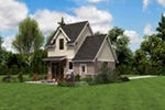 Rustic Home Plan Rear Photo 03 -  011D-0612 | House Plans and More