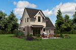 Rustic Home Plan Rear Photo 06 -  011D-0612 | House Plans and More